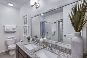 Luxurious Bathroom at Residence at Tailrace Marina, Mount Holly, NC, 28120