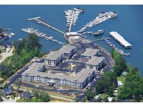 Aerial view Of Community at The Residence at Marina Bay, Irmo, SC, 29063