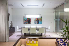 Enjoy the private art collection throughout the community |1600 Glenarm