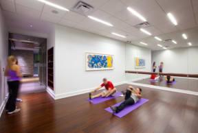 Yoga room |1600 Glenarm