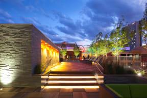 Outdoor patio and lounge |1600 Glenarm