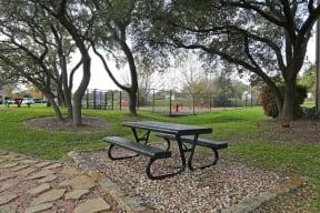 Picnic area | The Park at Walnut Creek