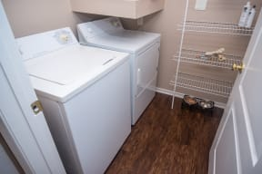 In-home washer and dryer | River Stone Ranch