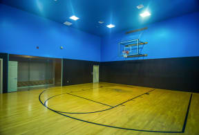 Indoor basketball court | River Stone Ranch