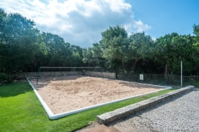 Sand volleyball court | River Stone Ranch