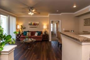 Living room | The Park at Walnut Creek