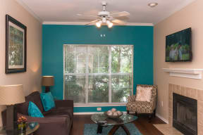 Classic home living room   Stonelake at the Arboretum