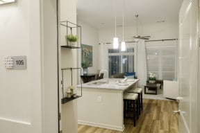 Kitchen   Lofts at Zebulon
