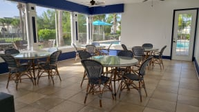 Poolside clubhouse  | Bay Harbor