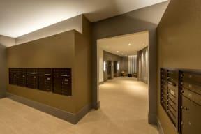 Mail room | The Merc at Moody and Main