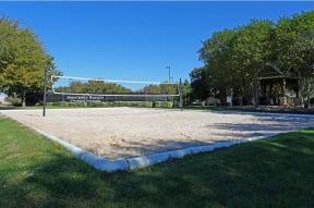 Sand volleyball court   Monterey Ranch