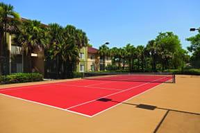 Tennis court   Cypress Shores