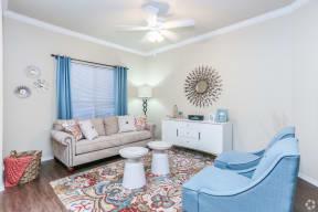 Living room   Northland at the Arboretum apartments