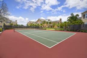 Tennis court  | Estates at Heathbrook
