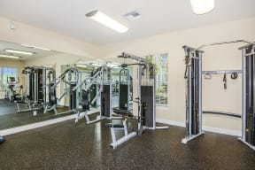 Fitness center  | Bay Breeze Villas