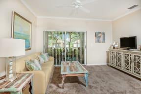 Living room  | Bay Breeze Villas
