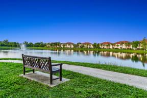 Lakeside Walking Path | Bay Breeze Villas