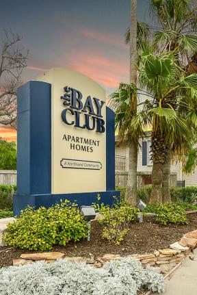 Entrance to community   Bay Club