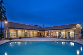 Pool   Bay Club