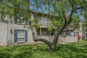 All homes include a private porch or patio  Bay Club
