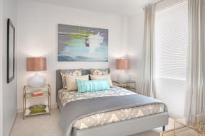 Bedroom | The Merc at Moody and Main
