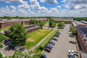 Aerial view  | Bigelow Commons
