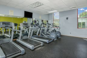 Fitness center | Bigelow Commons