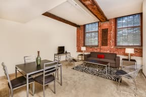 Dining and living room | Bigelow Commons