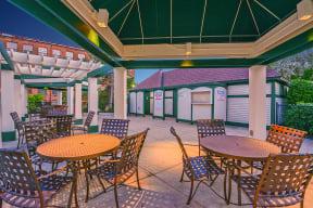 Outdoor patio  | Bigelow Commons