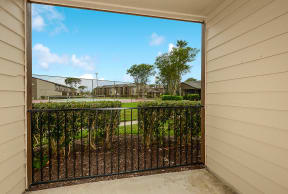 Homes feature private patios or balconies   Candlewood