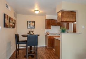 Kitchen and dining area   Candlewood