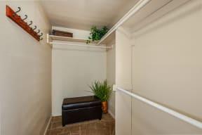 Spacious closet storage   Candlewood