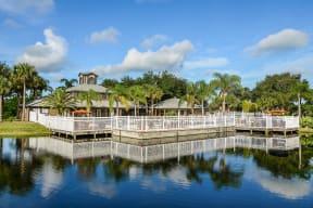 Enjoy beautiful lakeside views   Caribbean Isle