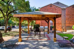 Community patio   Channings Mark