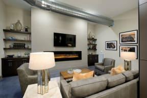 Clubhouse lounge   Lofts at Zebulon