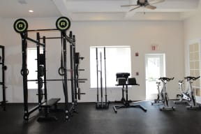 Fitness Center with weights  Cypress Legends