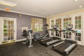 Fitness center   Cypress Shores