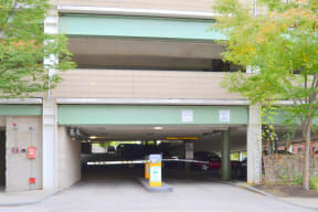 Garage Entrance |Residences at Manchester Place