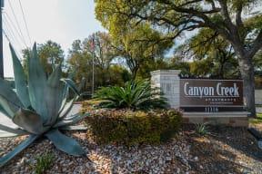 Entrance to community  | Canyon Creek