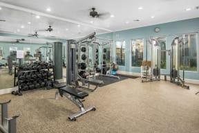 Fitness center | Park at Monterey Oaks