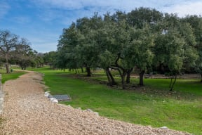 On site nature park and walking trails | Park at Monterey Oaks