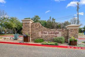 Welcoming Property Signage| Lodge at Lakeline Village