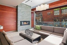 Open air lounge area |1600 Glenarm