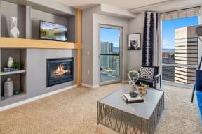 Living room |1600 Glenarm
