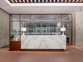 Concierge desk |1600 Glenarm