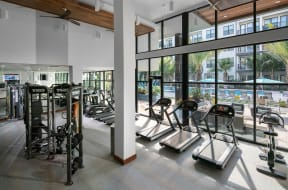 State Of The Art Fitness Center | District at Rosemary