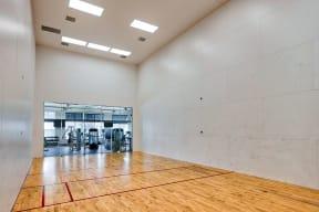 Racquetball court  | Estates at Heathbrook