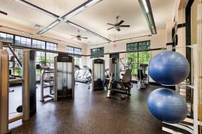 Fitness center  | Estates at Heathbrook