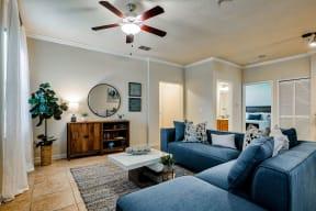 Living room | Estates at Heathbrook