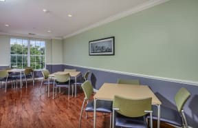 Community game room  | Highlands at Faxon Woods